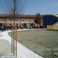 Museo Casa Enzo Ferrari Entrance - Alien life form - Modena (MO)