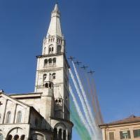 Frecce tricolori sulla Ghirlandina - Ellipa - Modena (MO)