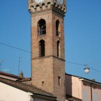 Torre civica - dettaglio - Saxi82 - Novi di Modena (MO)
