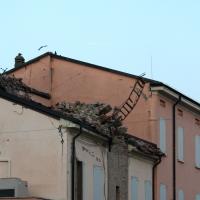 Torre civica - dopo il sisma del 03.06.2012 - Saxi82 - Novi di Modena (MO)
