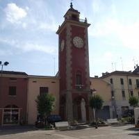 Torre dell'Orologio di San Felice sul Panaro prima del terremoto del 20 maggio 2012 - Tommaso Trombetta - San Felice sul Panaro (MO)