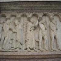 Duomo di Modena, pannello scultoreo di facciata - Giuch86 - Modena (MO)