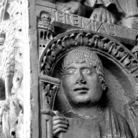 Decorazione Portale Centrale, Geremia - Chiara Salazar Chiesa - Modena (MO)