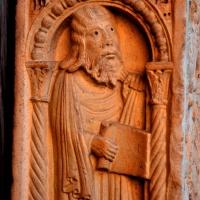 Decorazione Portale Centrale, Profeta - Chiara Salazar Chiesa - Modena (MO)