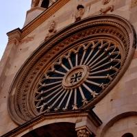 Rosone nella facciata del Duomo - Chiara Salazar Chiesa - Modena (MO)