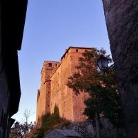 Scorcio del Castello di Montecuccolo al tramonto - Giorgia Violini - Pavullo nel Frignano (MO)