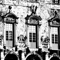 Facciata sud particolare - Guido rustichelli - Sassuolo (MO)