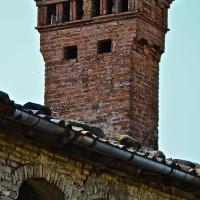 Particolare del tetto della Rocca - Caba2011 - Vignola (MO)