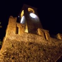 Veduta notturna della Torre dell'orologio - Baroxse - Castelvetro di Modena (MO)