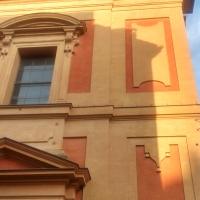 La facciata, poco prima del tramonto - Clarkfor - Modena (MO)