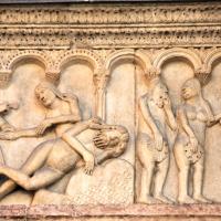 Creazione della donna e peccato originale di Wiligelmo - Mongolo1984 - Modena (MO)