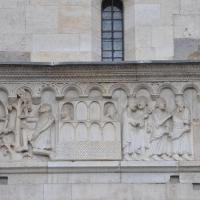Duomo modena estero particolare facciata balcone - Manesti - Modena (MO)