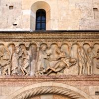 Creazione dell'uomo, della donna e peccato originale di Wiligelmo 1 - Mongolo1984 - Modena (MO)