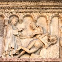 Creazione della donna di Wiligelmo 2 - Mongolo1984 - Modena (MO)