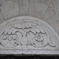 Duomo modena estero particolare porta - Manesti - Modena (MO)