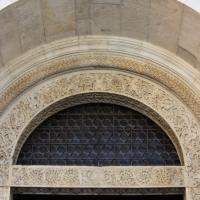 Dettaglio dell?architrave del portale della facciata del duomo di modena 2 - Mongolo1984 - Modena (MO)