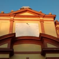 Particolare della meridiana sul fronte principale - Clarkfor - Modena (MO)