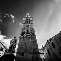 Torre Ghirlandina infrared - Lara zanarini - Modena (MO)