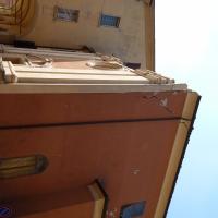 Parete laterale danno terremoto 29-05-2012, Oratorio di Santa Croce - San Felice sul Panaro - Mimmo Ferrari - San Felice sul Panaro (MO)