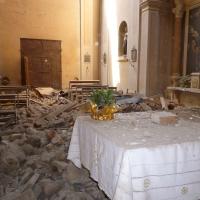 Altare terremoto 20-05-2012, Oratorio di Santa Croce - San Felice sul Panaro - Mimmo Ferrari - San Felice sul Panaro (MO)