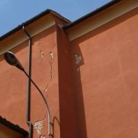 Parete laterale danno terremoto 20-05-2012, Oratorio di Santa Croce - San Felice sul Panaro - Mimmo Ferrari - San Felice sul Panaro (MO)