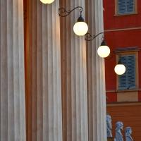 Teatro,luci dell sera - Nike33 - Carpi (MO)