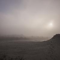 Salse di Nirano nella nebbia - Diego Foà - Fiorano Modenese (MO)
