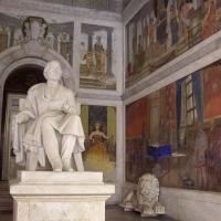 Atrio Biblioteca Poletti presso Palazzo dei Musei - Clawsb - Modena (MO)