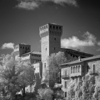 Rocca di Vignola bianco e nero - Lara zanarini - Vignola (MO)