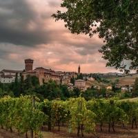 Castello di Levizzano con il manto verde - Angelo nastri nacchio - Castelvetro di Modena (MO)