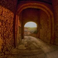 Ingresso del Castello di Levizzano - Quartieri Alessandro - Castelvetro di Modena (MO)