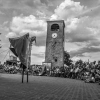 La piazza in festa - Angelo nastri nacchio - Castelvetro di Modena (MO)