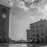 La torre in bianco e nero - Angelo nastri nacchio - Castelvetro di Modena (MO)