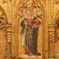 Angelo e bartolomeo degli erri, polittico dell'ospedale della morte, 1462-66, predella 02 orsola - Sailko - Modena (MO)