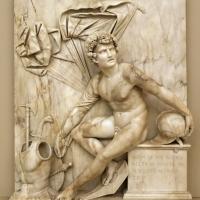 Antonio lombardo, marte a riposo, 1510-15 ca. 01 - Sailko - Modena (MO)