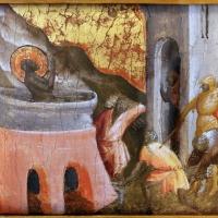 Arcangelo di cola da camerino, predella, 1430-35 ca. 05 martirio di san giovanni evangelista - Sailko - Modena (MO)