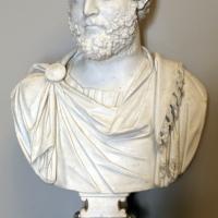 Arte romana, busto di elio vero, 100-150 dc ca, con interventi nel xvi secolo 01 - Sailko - Modena (MO)