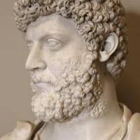 Arte romana, busto di elio vero, 100-150 dc ca, con interventi nel xvi secolo 02 - Sailko - Modena (MO)