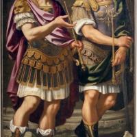 Bernardino cervi, ritratti ideali di aurelio e tiberio d'este, 1627-28 - Sailko - Modena (MO)