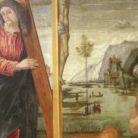 Bernardo parentino, cristo portacroce tra i ss. girolamo e agostino, 1492-96 ca. 03 - Sailko - Modena (MO)