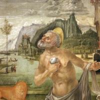 Bernardo parentino, cristo portacroce tra i ss. girolamo e agostino, 1492-96 ca. 04 - Sailko - Modena (MO)