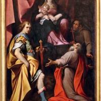 Camillo procaccini, madonna col bambino tra i ss. girolamo, vitale e francesco d'assisi, 1598-1626 - Sailko - Modena (MO)
