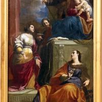 Carlo bononi, sacra famiglia con le sante caterina, barbara e lucia, 1626 - Sailko - Modena (MO)