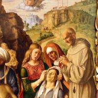 Cima da conegliano, compianto sul cristo morto coi ss. francesco e bernardino, 1502-1505 ca. 03 - Sailko - Modena (MO)