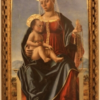 Cristoforo canozi da lendinara, madonna della colonna, 1479-82 - Sailko - Modena (MO)