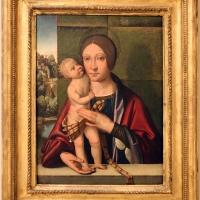 Domenico panetti, madonna col bambino, 1498-1500 ca - Sailko - Modena (MO)