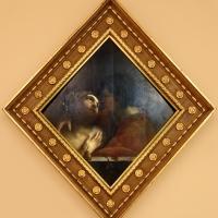Dosso dossi, formelle del soffitto della camera da letto di alfonso I d'este, 1520-22, amore o abbraccio - Sailko - Modena (MO)