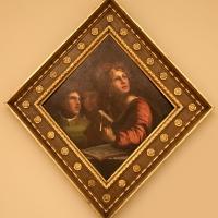 Dosso dossi, formelle del soffitto della camera da letto di alfonso I d'este, 1520-22, musica - Sailko - Modena (MO)