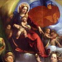 Dosso dossi, madonna col bambino tra i ss. giorgio e michele, 1518-19, 02 - Sailko - Modena (MO)