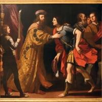 Ercole gennari, commiato di catone da utica (da guercino), 1636 - Sailko - Modena (MO)